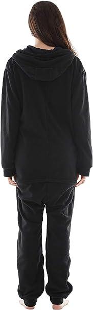 excelente para Invierno Pijama Hombre Mujer Pijama en Tejido Franela Polar Suave y c/ómodo para Toda la Familia
