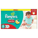 Pampers Mega Plus Baby-Dry Pants, Mega + Pack - Size 6 by Pampers