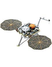 Fascinations Metal Earth InSight Mars Lander 3D metalen puzzel, constructiespeelgoed, vanaf 14 jaar