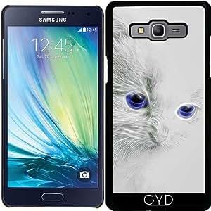 Funda para Samsung Galaxy A5 (SM-A500) - Gatito Blanco by Gatterwe