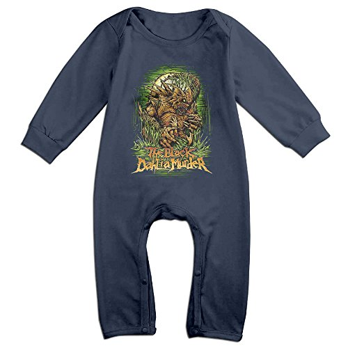 OLGB Babys Dahlia Metal Core Band Long Sleeve Bodysuit Outfits 12 Months ()