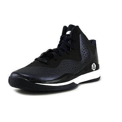 a2aceda1dfb8 Adidas D Rose 773 III Mens Basketball Shoe 10 Navy-Black-White