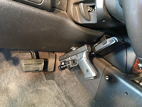 2 Pack Gun Magnet W Adhesive Backing Car Holster