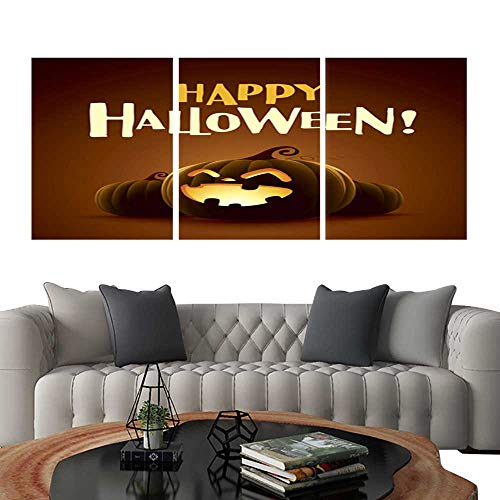 UHOO Prints Wall Art PaintingsHappy Halloween! Halloween Pumpkins 5. Customizable Wall Stickers 24