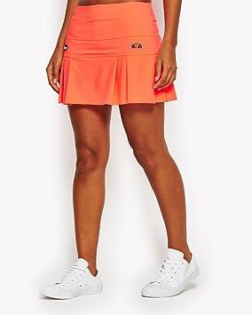 Ellesse SCW03223 Falda Pantalón de Tenis, Mujer, Naranja (Neon Coral ...