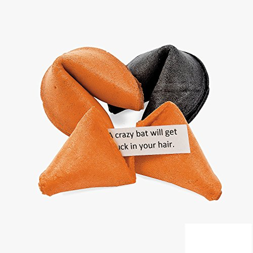 Halloween Fortune Cookies - 50 Pcs.