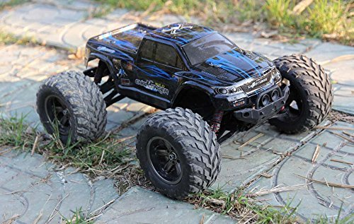 FMTStore 1/12 Scale Electric RC Car Offroad 2.4Ghz 2WD High Speed 33+MPH Remote Controlled Car Truck (Color: Assorted) ()