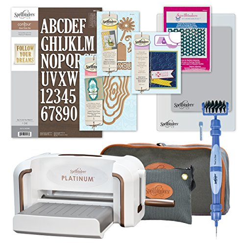 Spellbinders Platinum Die Cutting Machine Starter Bundle by Spellbinders