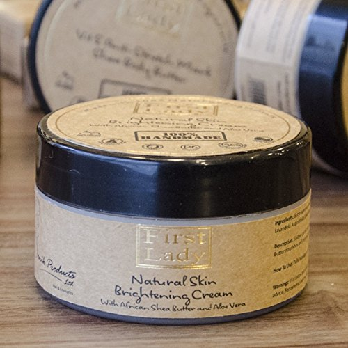 First Lady - Handmade Natural Skin Brightening Cream with African Shea...