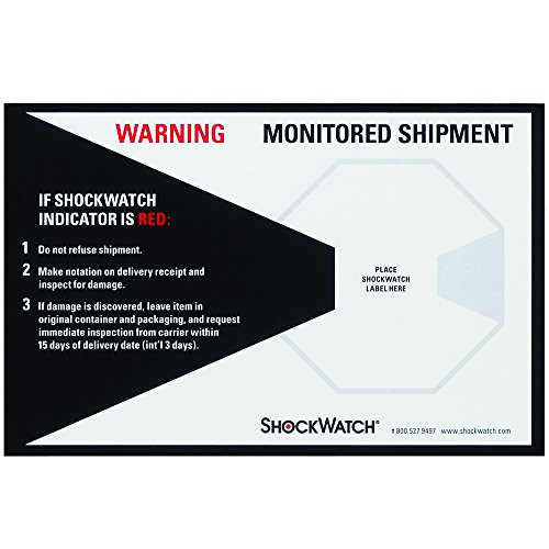 ShockWatch SHWCL Companion Labels (Pack of 200)