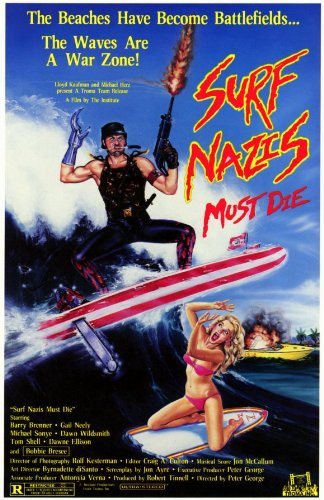 Surf Nazis Must Die 11 x 17 Movie Poster - Style A