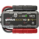 NOCO Genius Boost HD GB70 2000 Amp 12V UltraSafe Lithium...