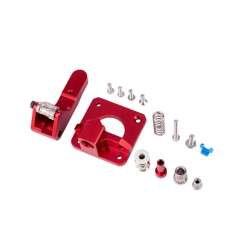 Extrudeuse /à engrenages double en aluminium originale de Creality accessoire am/élior/é dimprimante de lalimentation 3D dentra/înement de lextrusion pour le filament de 1.75mm