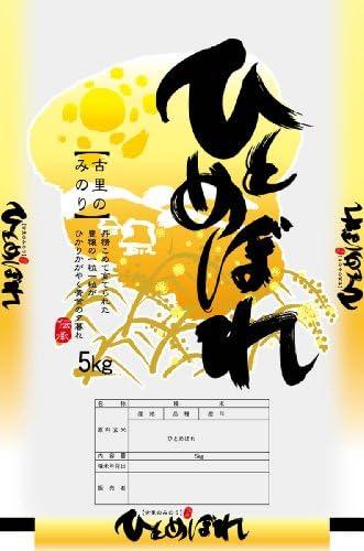 【精米】特別栽培米 岩手県花巻産ひとめぼれ5kg 令和元年産