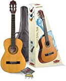Stagg C505 1/4-Size Nylon String Classical Guitar with Accessories Package - Natural