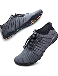 Upstream Shoes Tuluo Quick Dry Water Shoes Men Women Barefoot Breathable Non Slip Swimming Sport Sneakers Sea Beach Male Aqua Shoes Unisex Reliable Performance