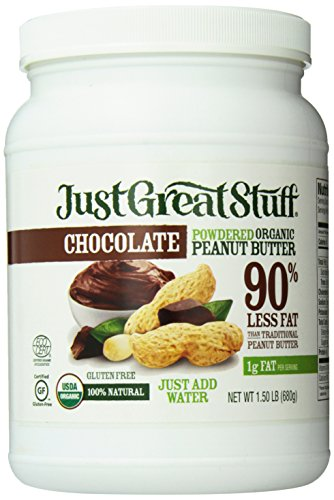 Betty Lou's Organic Chocolate Powdered Peanut Butter, 1.5 Pound (Packaging May -