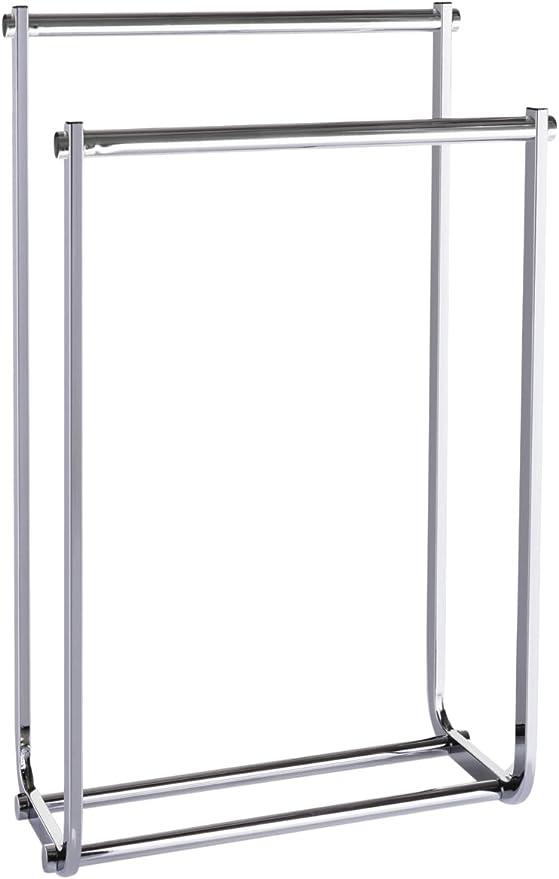 Möve Deco Handtuchhalter Silver 26x50x80 5 cm Edelstahl