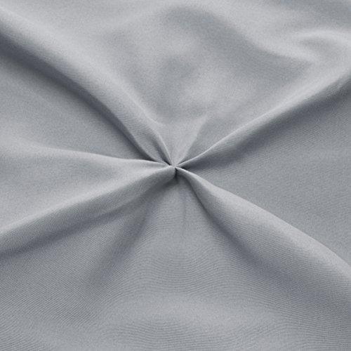 AmazonBasics Pleat Set Twin, Grey