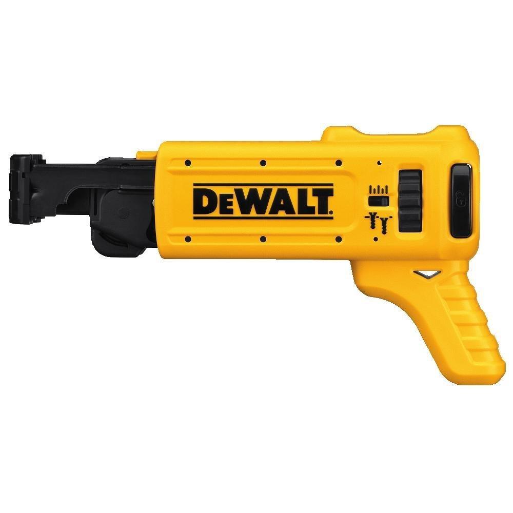 DEWALT DCF620D2 2.0AH 20-volt MAX XR Li-Ion Brushless Drywall ScrewGun with Drywall ScrewGun Cordless Collated Attachment