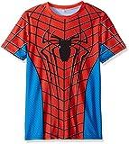 IdeaBox Men's Compression Shirt Super Hero Short Sleeve Workout Fitness Shirt