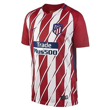 Nike ATM Y NK BRT STAD JSY SS HM Camiseta 1ª equipación Atlético de Madrid  17 94be3ae34daa9