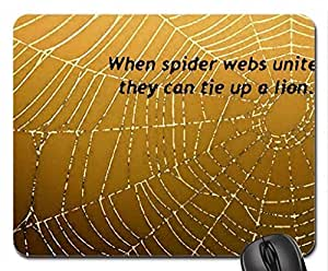 Spider Webs Mouse Pad, Mousepad (Bugs Mouse Pad, 10.2 x 8.3 x 0.12 inches) by ruishername