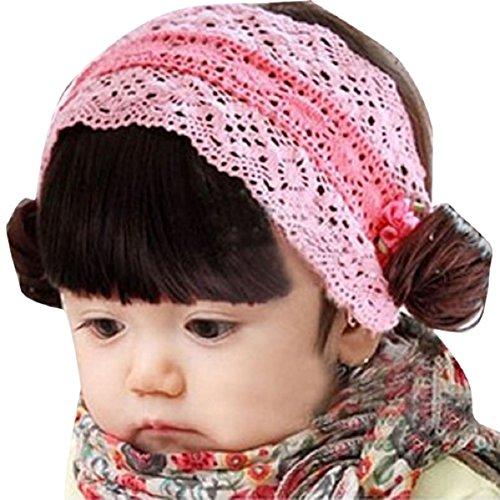Doinshop Lovely Babys Girls Powder Bangs Hair Band Photography Headbands -