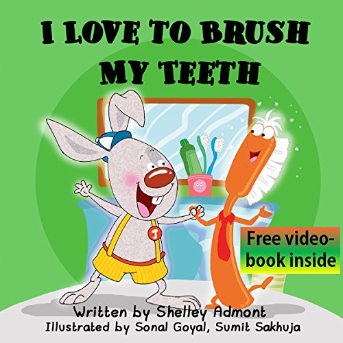 Children's books: I LOVE TO BRUSH MY TEETH