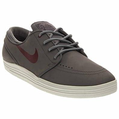 Nike SB Lunar Stefan Janoski (Cool Grey/Villain RedAnthracite) Men's Skate Shoes9.