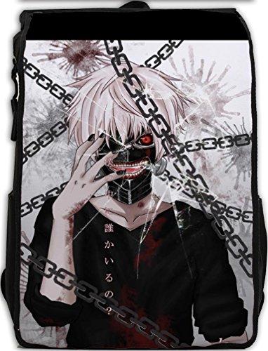 YOYOSHome Anime Tokyo Ghoul Cosplay Kaneki Ken Rucksack Backpack School Bag(# 17)