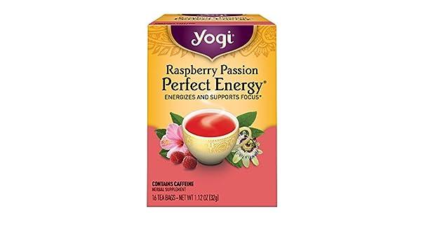 Yogi Tea - Pasión perfecta de la frambuesa del té de la ...