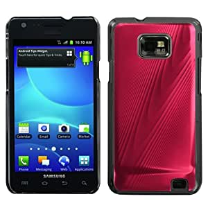 MYBAT Red Cosmo Back Protector Cover for SAMSUNG I777 (Galaxy S II)