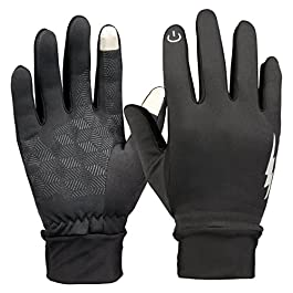 RilexAwhile Winter Gloves, Touch Screen Gloves Thermal Gloves Outdoor Cycling Gloves for Men and Women