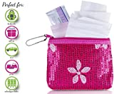 Menstruation Kit - First Period Kit To-go! (Period Starter Kit with all Natural Pads)