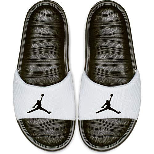 Jordan Break Slide (11 D(M) US, White/Black) (Jordan Boys For Slides)