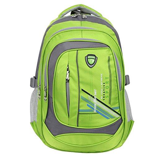 403dc643f290 Galleon - Zeraca Teen Girl Boy Laptop Backpack Bag Pack Bookbag For Middle  High School (Neon Citrus)