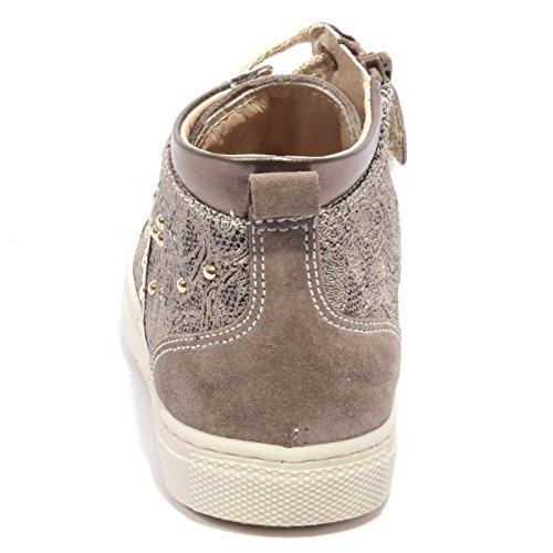 B1958 Shoe Nero Suede Tortora Kid Giardini Oro Sneaker Bimba Beige Tortora B1xf1nwq