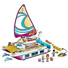 LEGO Friends Sunshine Catamaran Building Kit, 603 Piece
