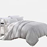 Lenzing Modal 4-Piece Ultra Soft Bed Sheet Set, Nature Beech Sateen Weave - Queen Size