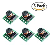 AuBreey 5pcs/lot 0.9-5V To 5V DC-DC Step-Up Power Module Voltage Boost Converter Board 1.5V 1.8V 2.5V 3V 3.3V 3.7V 4.2V To 5V