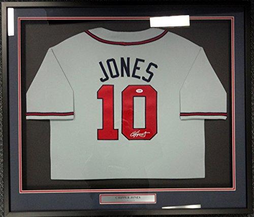 Atlanta Braves Chipper Jones Framed - 3