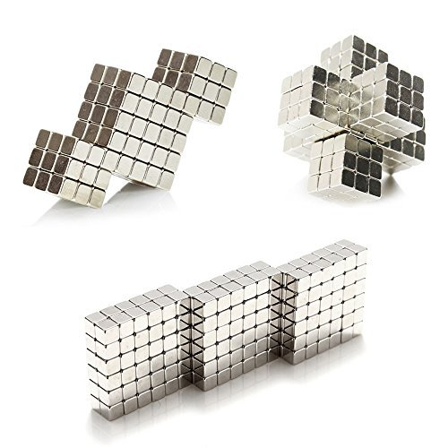 Magnetic Cube 216pcs Rolytoy 5mm Magnets Blocks Magnetic Sculpture Holders Square Cube Children's...