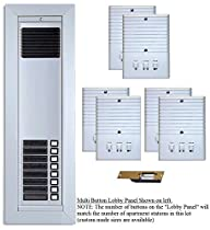 Apartment Entry Intercom Upgrade Electric Strike Door Lock 6 Room