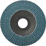 Pack of 10) Flap Disc 125Mm 80-Grit Flap Abrasive Mop Discs