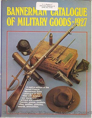Bannerman Catalogue of Military Goods 1927