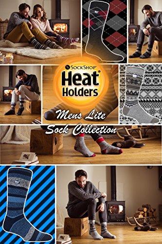 Détenteurs De Chaleur Lite - Hommes Minces Hiver Léger Chaudes Chaussettes De L'équipage Thermiques Occasionnels Halkyn