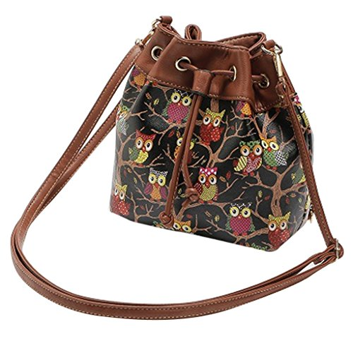 Messenger Hobo Shoulder Crossbody Ladies Tote Handbag Bag Boho Bag Bucket Prettyia wxnTRB088q
