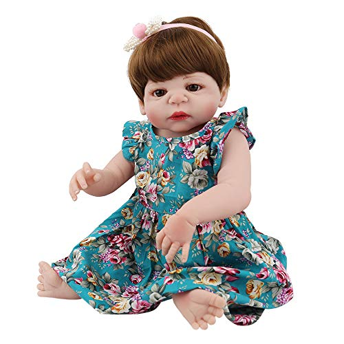 Lovewe Educational Doll,Lifelike Baby Doll 55cm New Doll Kids Girl Playmate Birthday Gift Christmas Gift by Lovewe_Christmas Decor (Image #4)