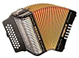Hohner Corona III GCF Accordion Black